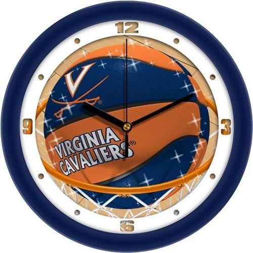 University of Virginia Cavaliers Basketball Wall Clock