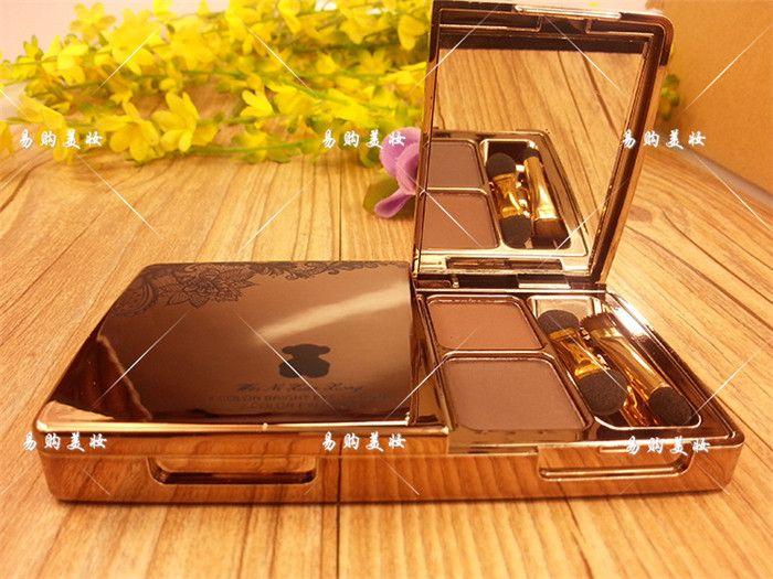 2016 Nuevo diamante de La Manera de sombra de Ojos Moda Maquillaje de 8 Colores de Partículas de Diamante de Sombra de Ojos Maquillaje Paleta de Sombra de Ojos