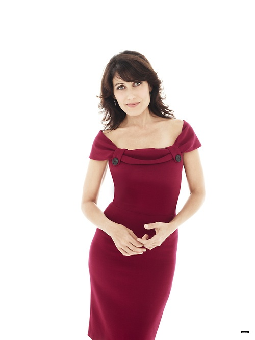 Lisa Edelstein as Dr. Cuddy on House MD