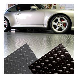 Diamond Plate Garage Floor Mat   Griotu0027s Garage