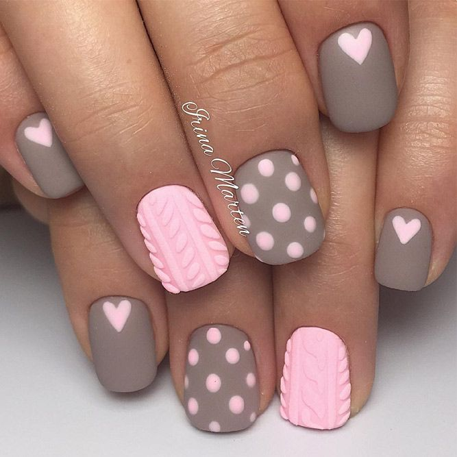 Best 25+ Valentine nail art ideas on Pinterest