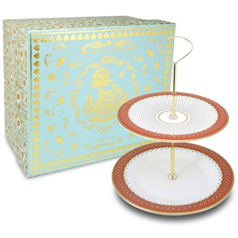 Wedgwood Queen Of Hearts Cake Stand