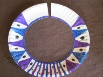 African necklace craft - so cute for when we learn about Africa!