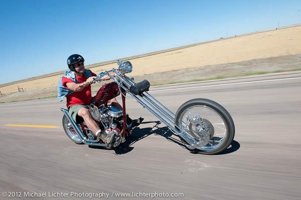 Elliott Morehardt captured on the Masterbeast II by Michael Lichter. Sturgis, SD, 2012. www.gothardt.com