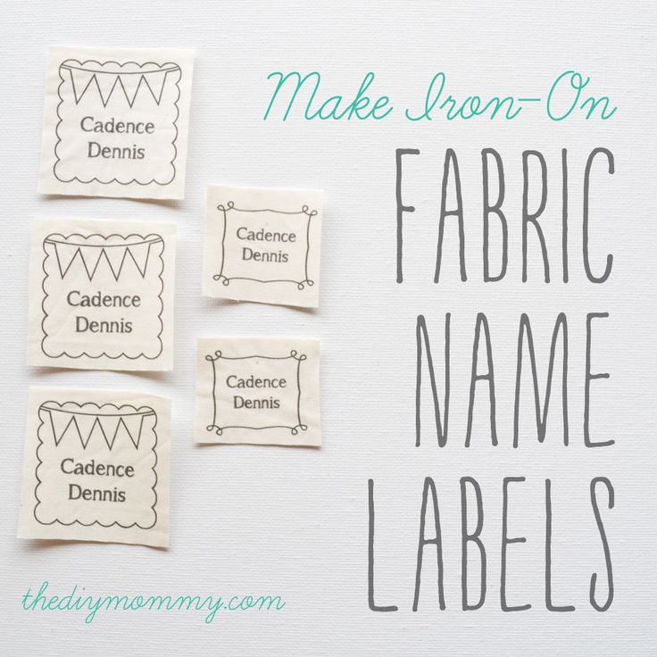 How To Make Clothing Labels At Home