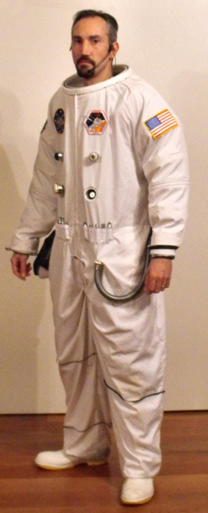 Super Low Budget ASTRONAUT Costume                                                                                                                                                                                 More
