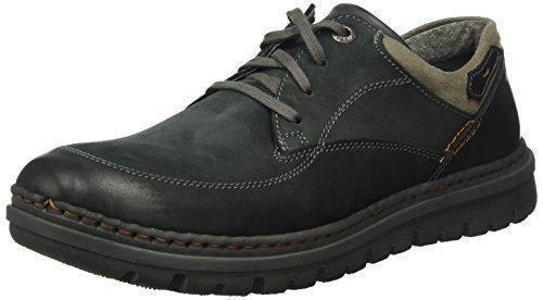 Oferta: 89.95€. Comprar Ofertas de Josef Seibel Jacob 11, Zapatos de Cordones Derby para Hombre, Negro-Schwarz (Schwarz/Grau 618), 45 EU barato. ¡Mira las ofertas!