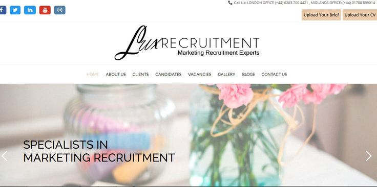 Lux Recruitment are a luxury marketing recruitment agency and work across all marketing disciplines nationwide. We are marketing Recruitment experts.