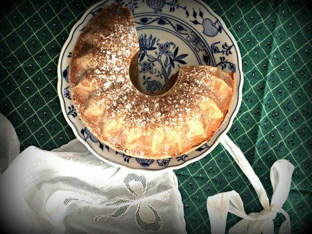 Bezlepková ořechová bábovka, Foto: Vylízaný talíř