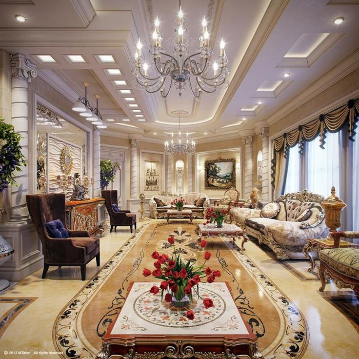 68 Interior Designs For Grand Living Rooms   Page 2 Of 14