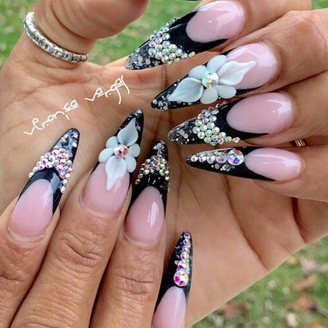 62 best Nails images on Pinterest   Stiletto nails, Acrylic nail ...
