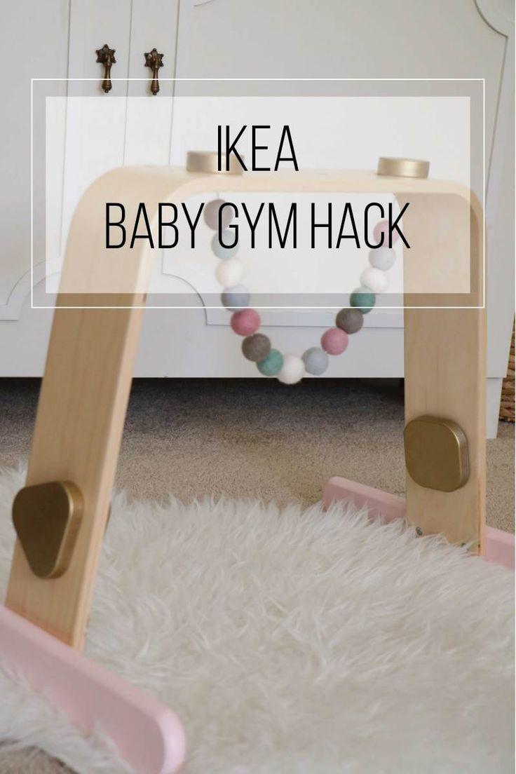 IKEA Hack: Wood Baby Gym