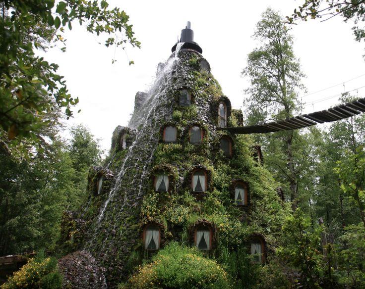 Hotel Lodge Montaña Mágica Huilo.