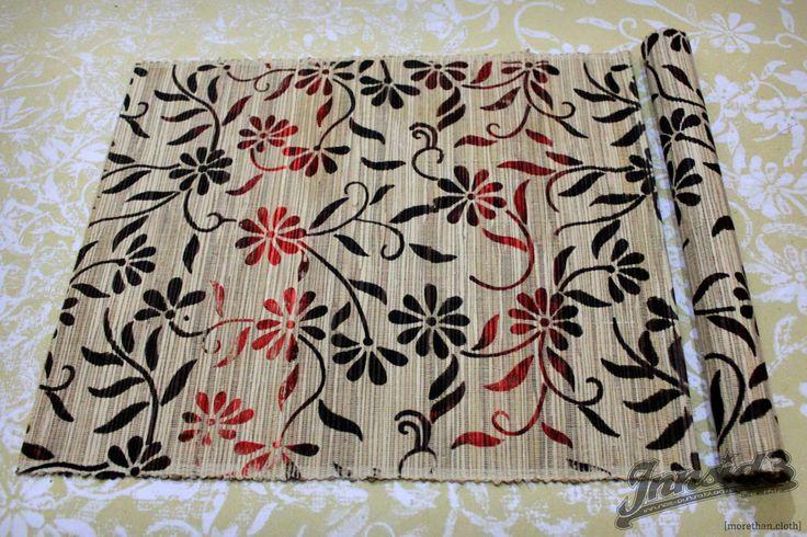 Waterhyacinth woven placemat #printing