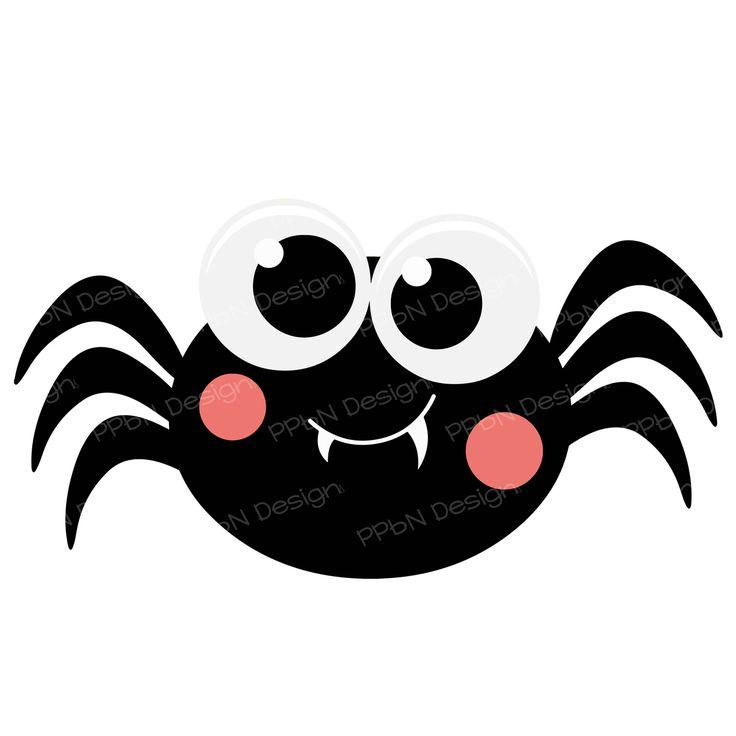 cute halloween spider clipart