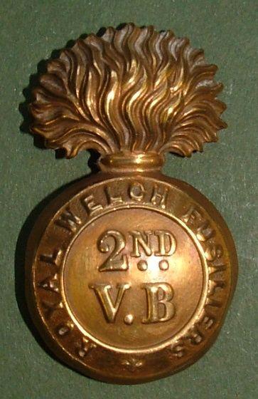 2nd Volunteer Battalion RWF in Brass.
