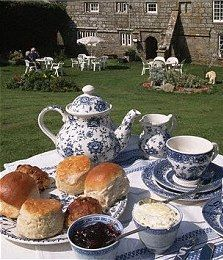 Cream Tea in England, how delightful!