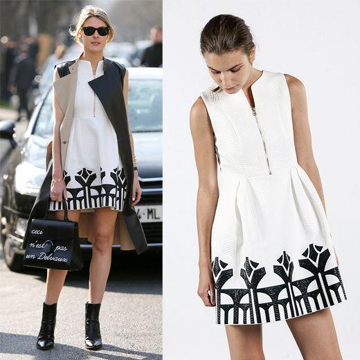 Geometrie architettoniche per il vestito #SilvianHeach di Sofie Valkiers alla #MilanoFashionWeek. Scopri il Dress Tiffiny >>> http://bit.ly/1RQaMCf