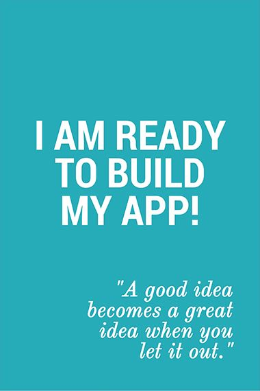 I am ready to build my app! Now what? #app #building #business #startup #unfoldatelier