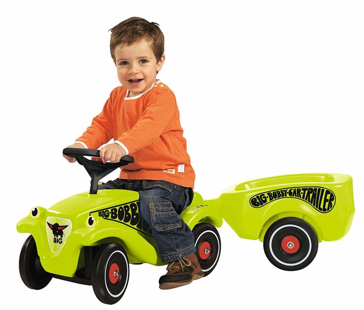 Big Green Trailer Toy for Bobby Car