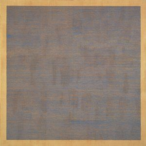 Agnes Martin  American, born Canada (Maklin, Canada, 1912 - 2004, Taos, New Mexico)  Falling Blue    1963  Painting | oil and graphite on canvas