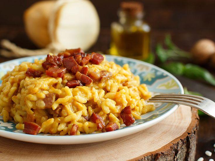Рецепты итальянской кухни из Италии - ризотто с тыквой, копченым сыром и беконом - Ярмарка Мастеров - ручная работа, handmade