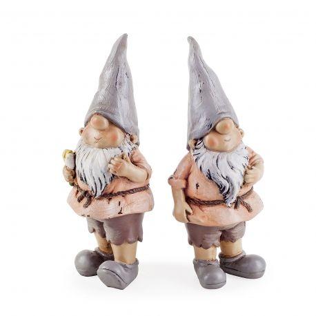 Rowan & Brody The Garden Loving Gnome Ornaments #gnomes #gardens