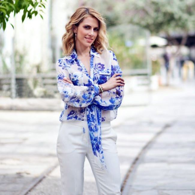 AR outfit Doretta Papadimitriou in Anna Rachele total outfit! Find it at Lili Hatzopoulos