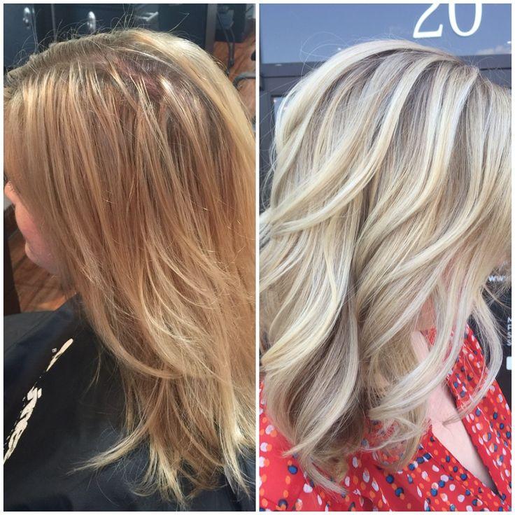 TRANSFORMATION: High Contrast Blonde | Modern Salon