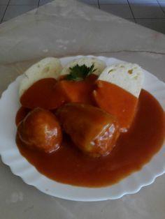 Starkiná plnená paprika - Recept pre každého kuchára, množstvo receptov pre pečenie a varenie. Recepty pre chutný život. Slovenské jedlá a medzinárodná kuchyňa