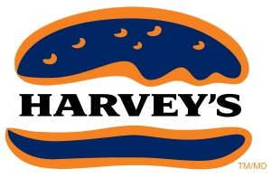 Harvey's is a fast food restaurant chain that operates in Canada, with locations concentrated in southern Ontario, southern Quebec, as well as the Maritimes, Manitoba, British Columbia, and Alberta. It serves hamburgers, hot dogs, french fries, onion rings, and other traditional fast food fare. The chain is owned by Cara Operations. Harvey's is the second-largest Canadian-established restaurant chain behind Tim Hortons, and is the fourth-largest burger chain in Canada.