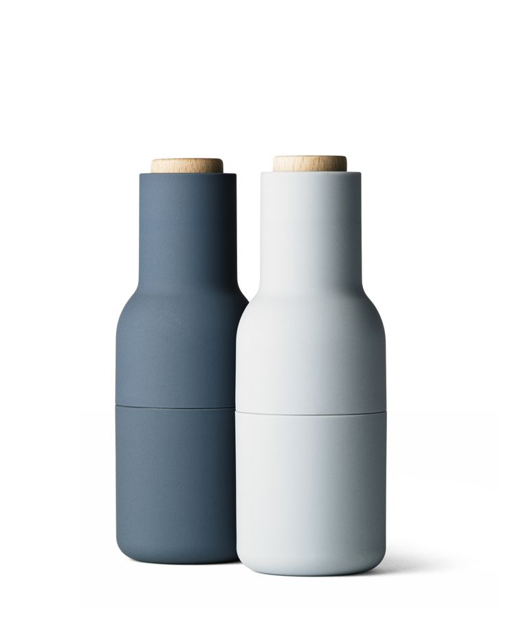 Who said practical couldn't be beautiful?! Salt & pepper bottle grinders by Norm Architects for Menu.