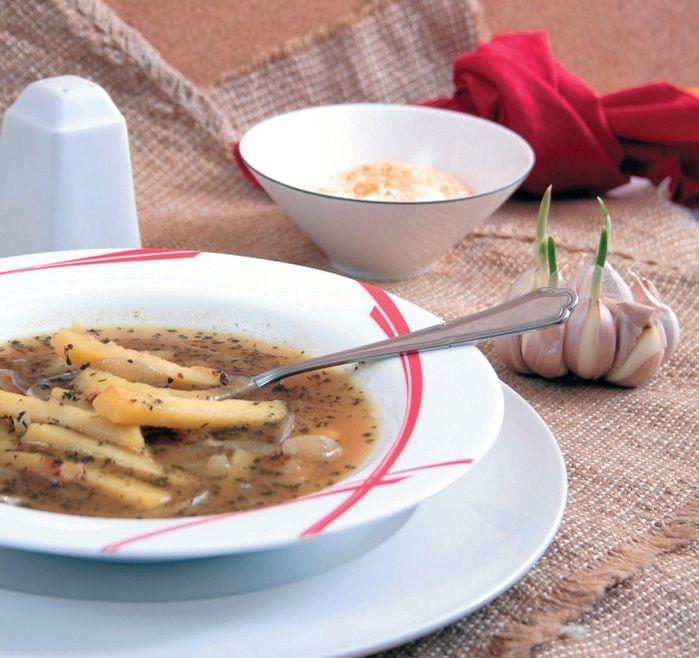 суп русский гречневый