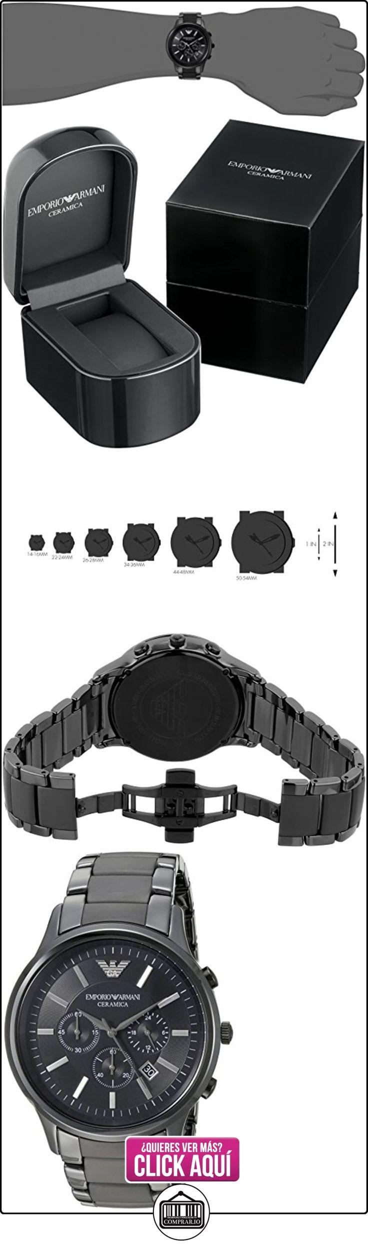 Emporio Armani AR1451 Reloj Hombre- Armani Ceramico  ✿ Relojes para hombre - (Gama media/alta) ✿ ▬► Ver oferta: http://comprar.io/goto/B0075574LG