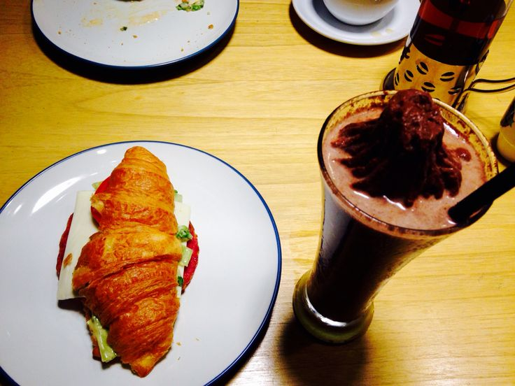 Croissants and Cookies Monster  At Wake Cup caffe Surabaya