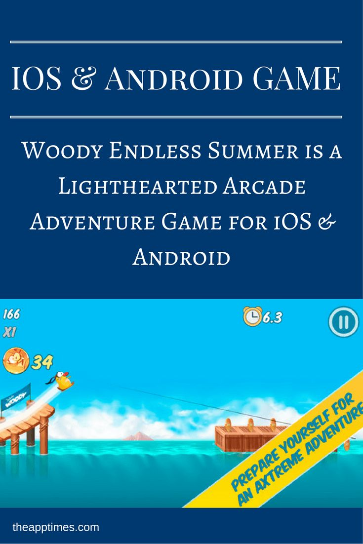 Check out Woody Endless Summer a thoroughly fun arcade adventure game where you…