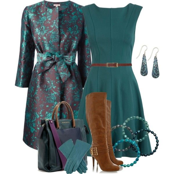 Winter Teal, created by lakegirl511 on Polyvore