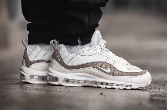 2a6e8a45a7756 Look For The Luxurious Nike Air Max 98 Sail Cream Next Week The Nike Air Max