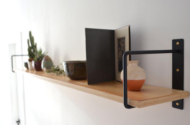 classic minimalist shelf brackets pair querres by mdtmobilier living goals pinterest regale regalsttzen und klassisch