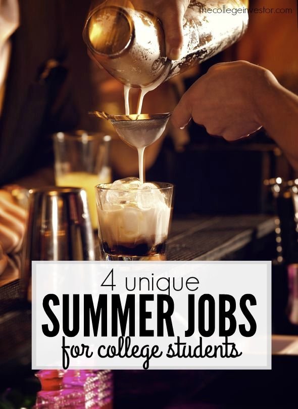 """There are job options that allow at least a little freedom - and a higher wage ceiling. Read on for some outside the box summer jobs for college students, and avoid turning your """"free"""" months into a restrictive slog."""