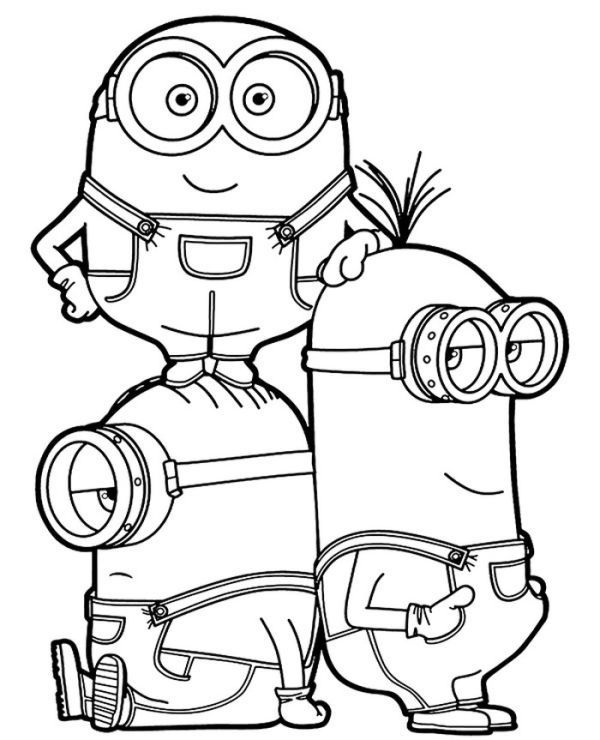 Pin On Minion Coloring Pages