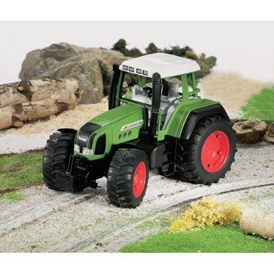 Bruder Fendt Favorit 926 Vario Tractor by Bruder Toys. $29.99. This Bruder Fendt Favorit 926 Vario Tractor is a tough German-made toy built for regular use in the sandbox or backyard. Moving parts and an extra-large size provide realistic action. Dimensions L x W x H (in.): 11 1/4 x 6 1/2 x 6 7/8,Material Type: ABS plastic,Recommended Ages (years): 3-7,Safety Warning: Choking hazard-small parts. Not suitable for children under 3 years.,Scale Size: 1:16