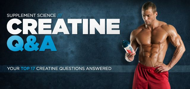 Great info on creatine and how to supplement your workout!