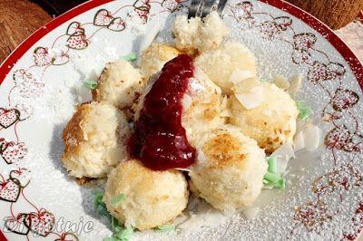 Di gotuje: Kluseczki kokosowo-migdałowe z serka capri (bez gl...