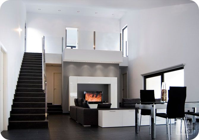 Proyecto arquitect nico de una vivienda por mas for Vivienda interior