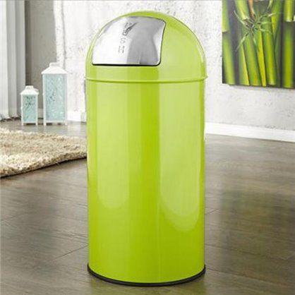 Kosz na śmieci PUSH CAN zielony