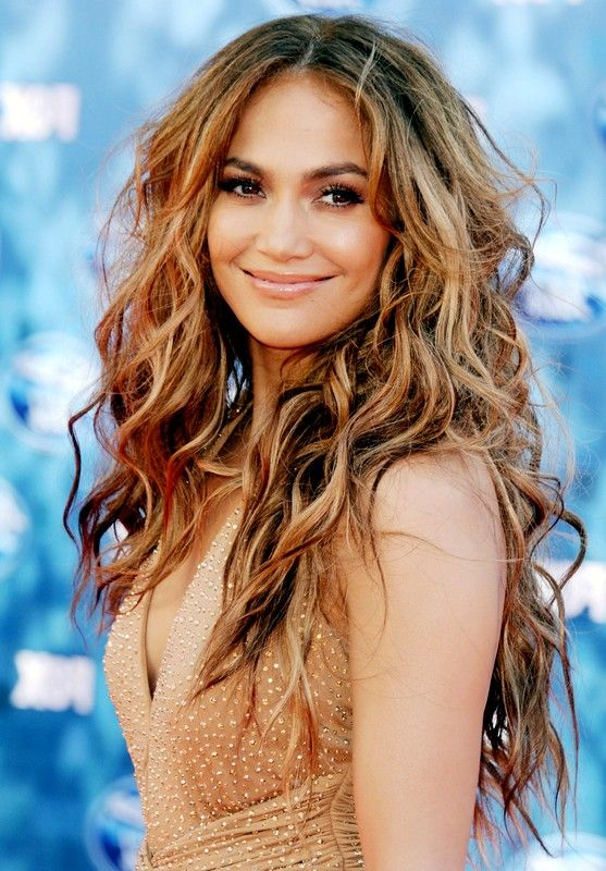 Jennifer Lopez Hairstyles 2015 Curly Hairstyles Ombre Hair
