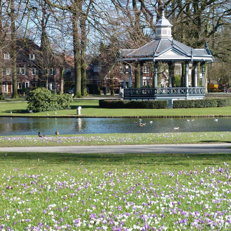 Oranjepark in de lente