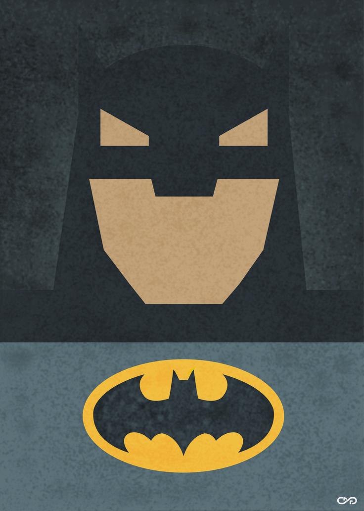 Cartel  minimalista Batman by slafifi