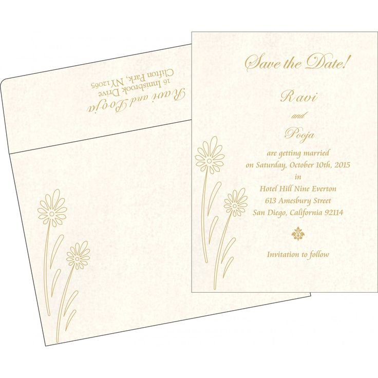 matter for wedding invitation in gujarati%0A Ivory shimmery floral themed  embossed wedding invitations   in